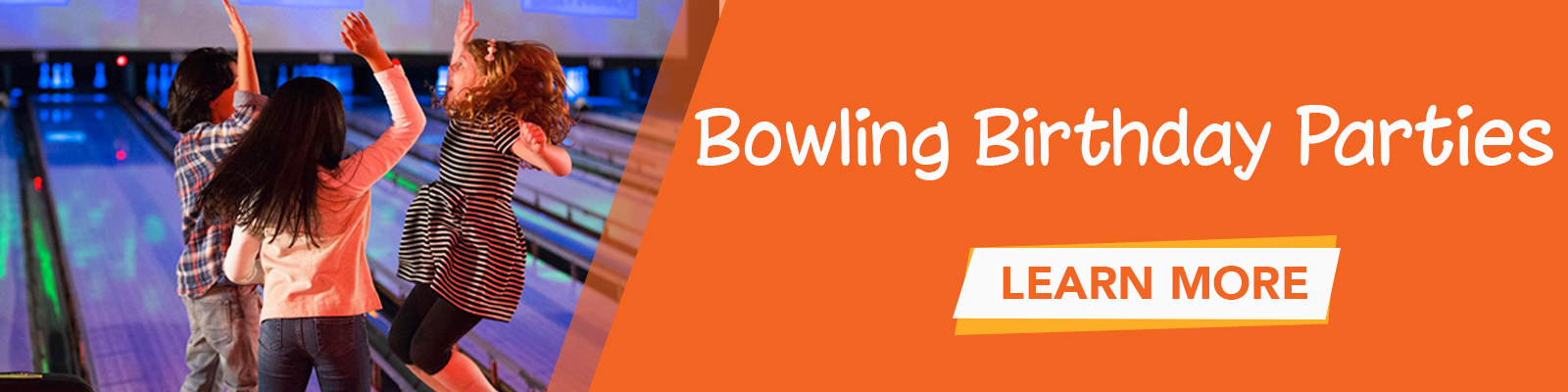 Click to learn more about bowling birthday parties