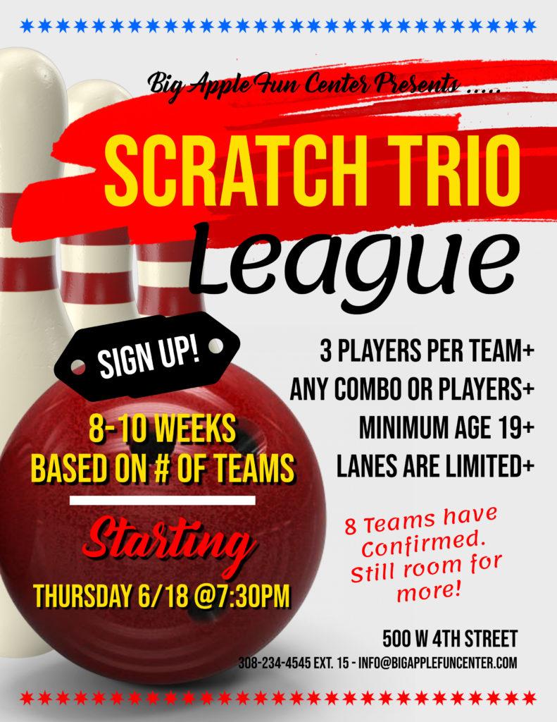 Scratch Trio League