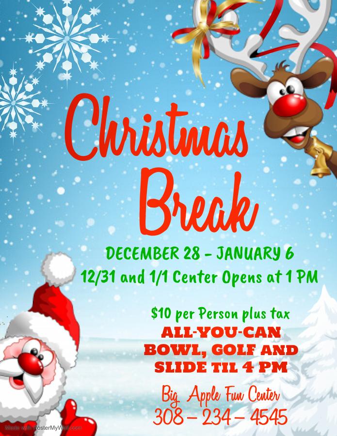 Christmas Break Deals